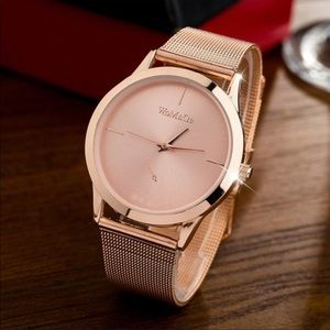 Accessories - New! Rose gold toned metal women's watch